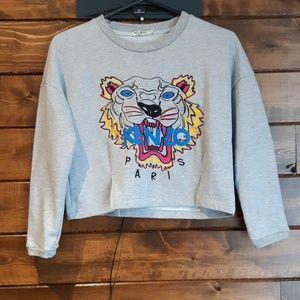 Kenzo sweatshirt crop top